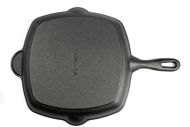 加大铸铁牛排煎锅条纹锅加厚家用电磁炉不粘锅平底锅鑄鐵鍋定做示例图31