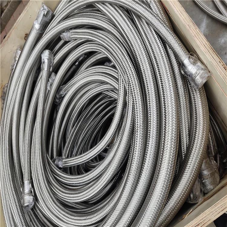 弘创厂家供应dn100抗震金属软管  316法兰金属软管 转炉吹氧管 欢迎订购示例图7