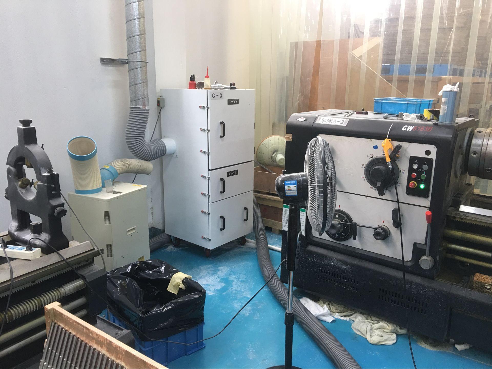 砂带机除尘设备 石墨粉尘吸尘装置 TWYX工业磨床吸尘机示例图13