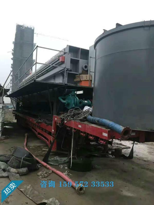 打桩泥浆压滤设备,工地泥浆处理压滤机,泥浆压滤机价格示例图1