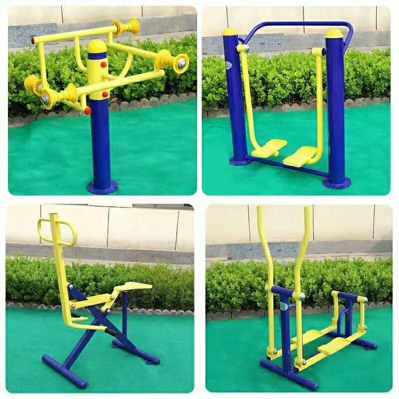 销售公园小区单人健骑机  室外健身器材  户外健身路径 增强体质示例图10