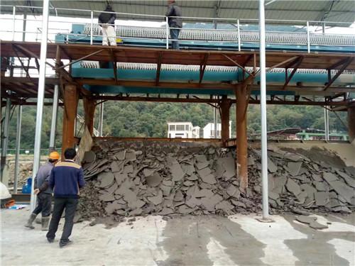 板框式压滤机 砂场压滤机 沙场污泥脱水 泥浆处理设备示例图1