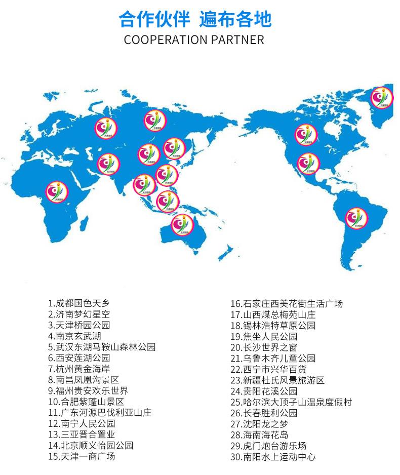 郑州大洋游乐设备的平行360度旋转儿童游乐欢乐飞车  8座12座宝马迷你飞车游乐设备 旋转飞车示例图16