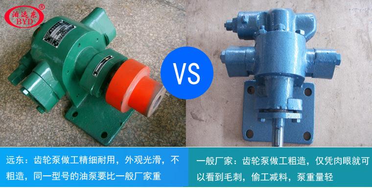 供应KCB2500输油泵泵内部件采用输送介质润滑-远东泵业示例图12