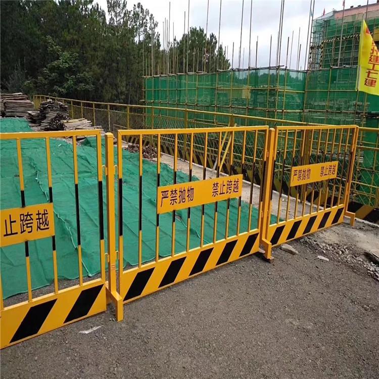 德兰定型化基坑护栏现货批发 DL604基坑护栏 定制工地基坑围挡示例图14