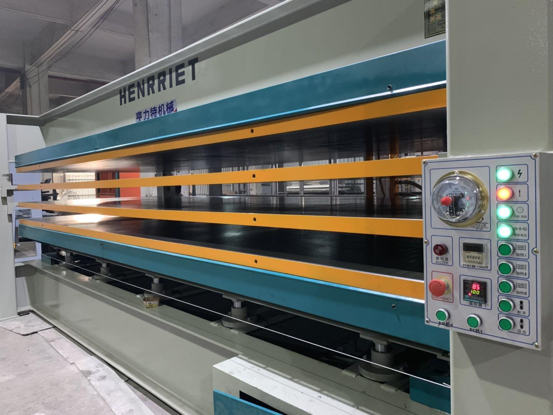 亨力特hlt3248-600t三聚氰氨貼面熱壓機,木工家具貼面熱壓機,生態板貼面熱壓機,尺寸非標可以定制示例圖29