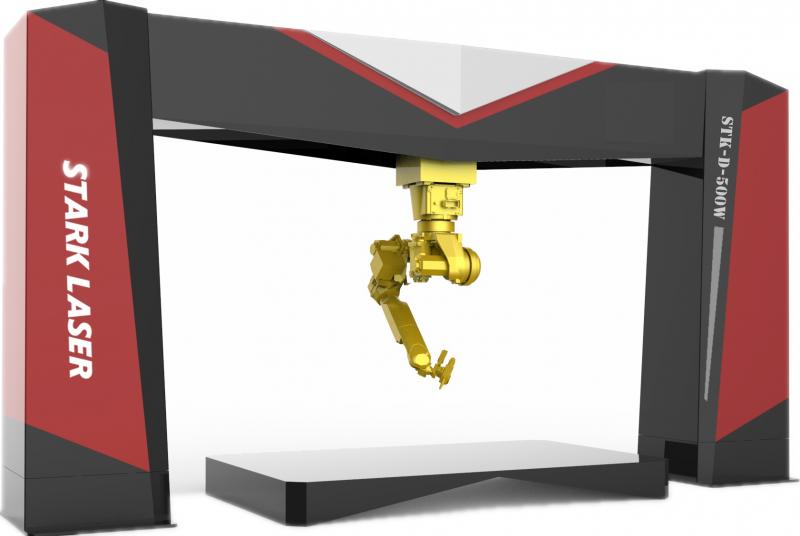STARK三维激光切割机器人 六轴机械手切割机 金属切割设备 斯塔克激光示例图2