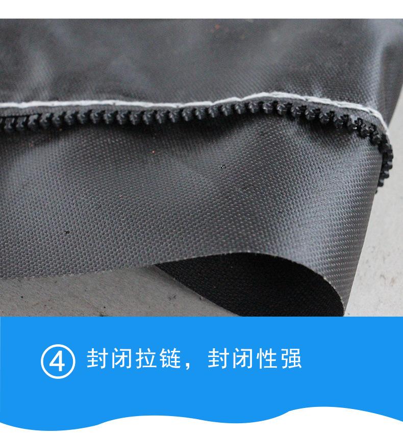 旭方廠家供應直徑1200MM隧道風筒 礦井導風筒 阻燃風帶布示例圖13