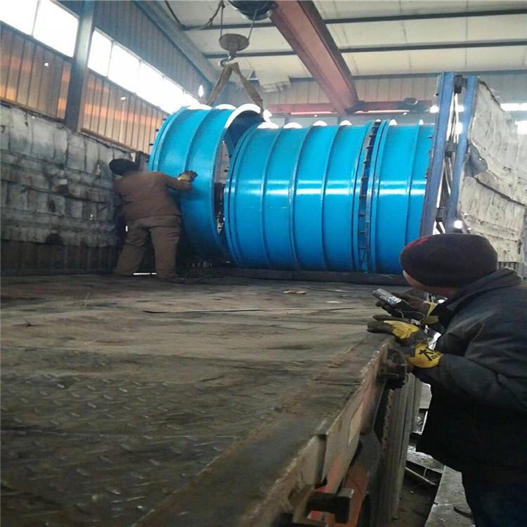 杰胜钢制防水套管法兰式防水套管 专业订做各种长度防水套管示例图5