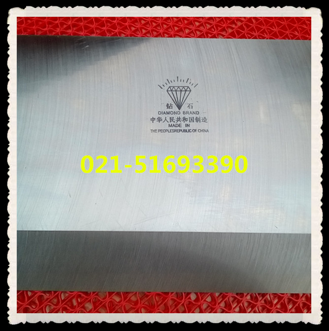 上海切纸刀片批发920对开切纸机刀片爱凯思牌切纸刀示例图1