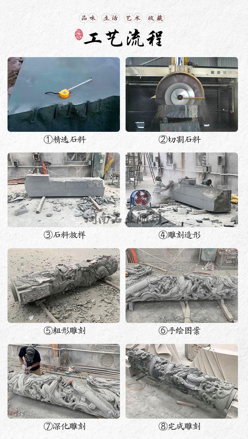 厂家供应大理石石狮子 福建石雕狮子厂家 批发精品石雕动物狮子示例图16
