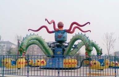 专业定制新款儿童游乐设备章鱼陀螺大洋游乐供应大型章鱼陀螺项目大章鱼,章鱼飞车打造2020游乐设备航母!示例图2