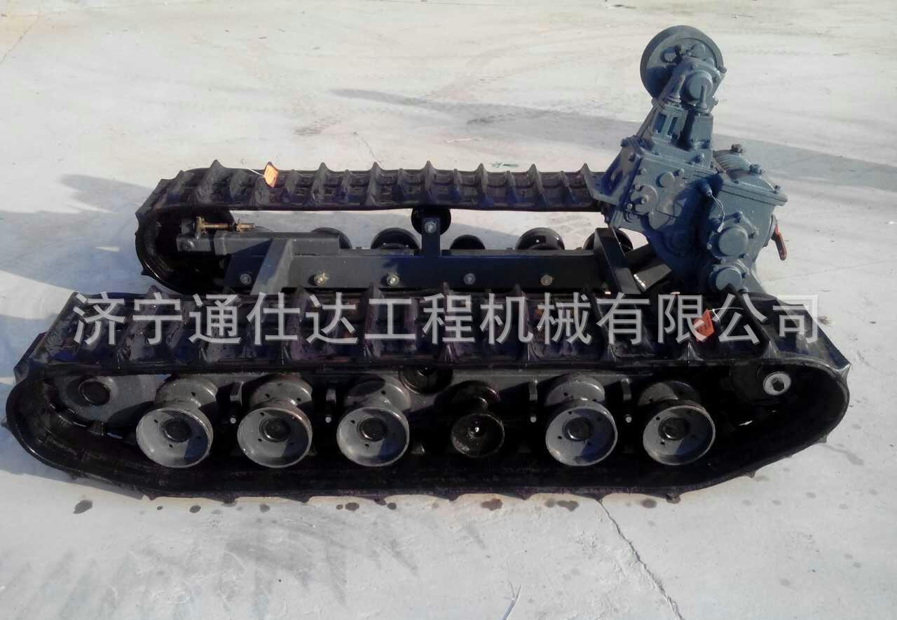 福建园林专用自卸履带运输车 定制小型3吨履带运输车直销价示例图23