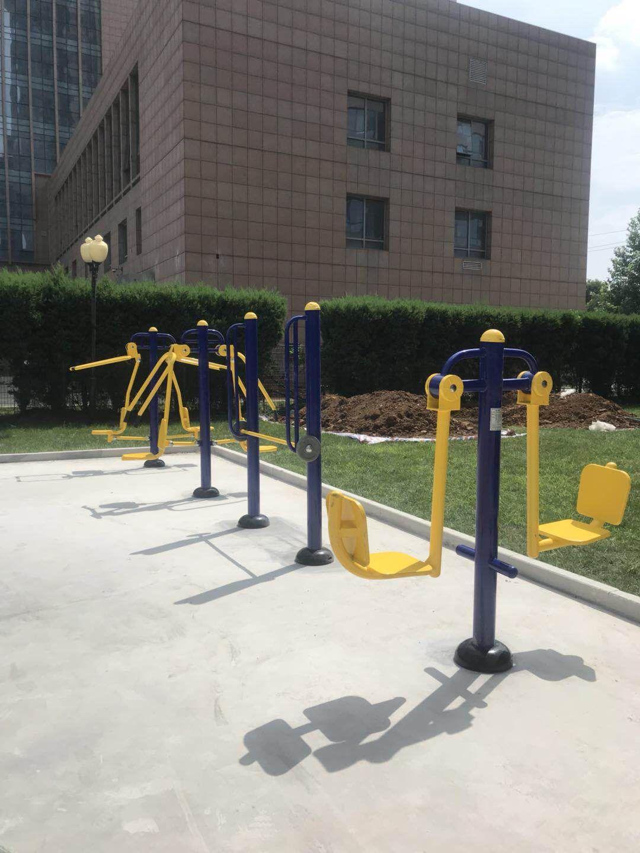 销售公园小区单人健骑机  室外健身器材  户外健身路径 增强体质示例图14