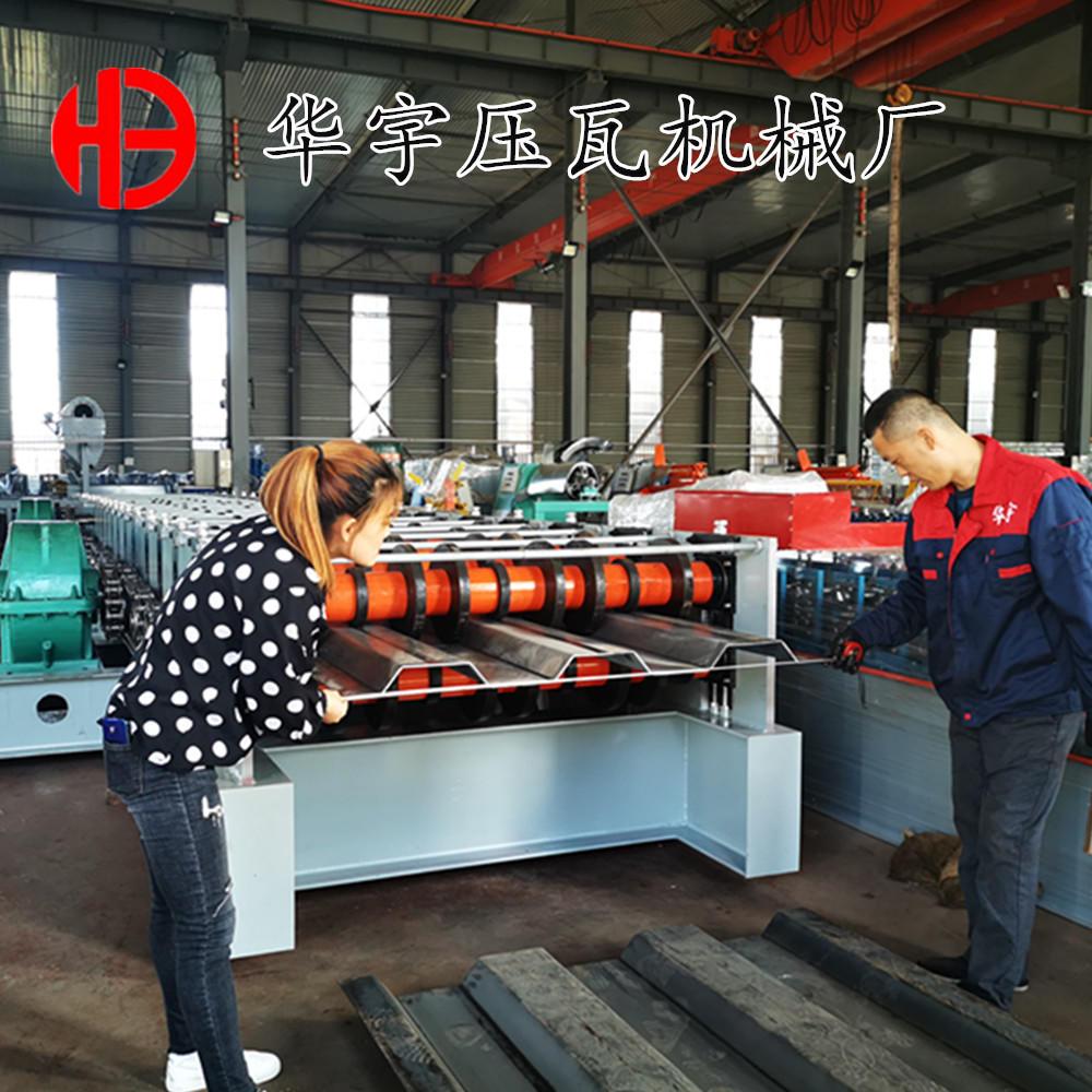 华宇箱板成型机 环保除尘箱体板成型机 定制各种型号箱板机设备示例图9