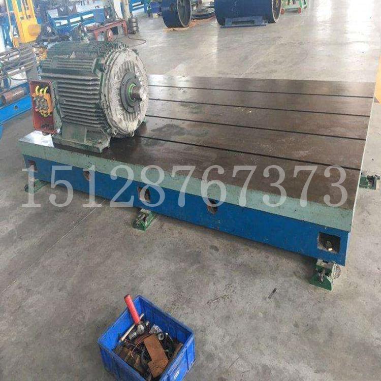 t型槽铸铁平台 铸铁T型槽平台 2米3米4米5米6米人防焊接铸铁平台平板 佳鑫支持来图定做示例图6