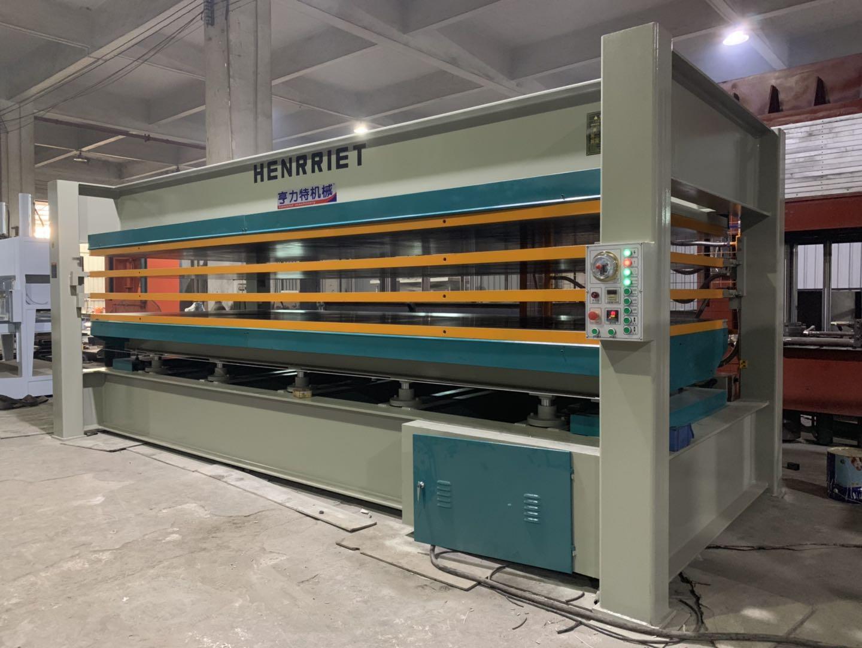 亨力特hlt3248-600t三聚氰氨貼面熱壓機,木工家具貼面熱壓機,生態板貼面熱壓機,尺寸非標可以定制示例圖27