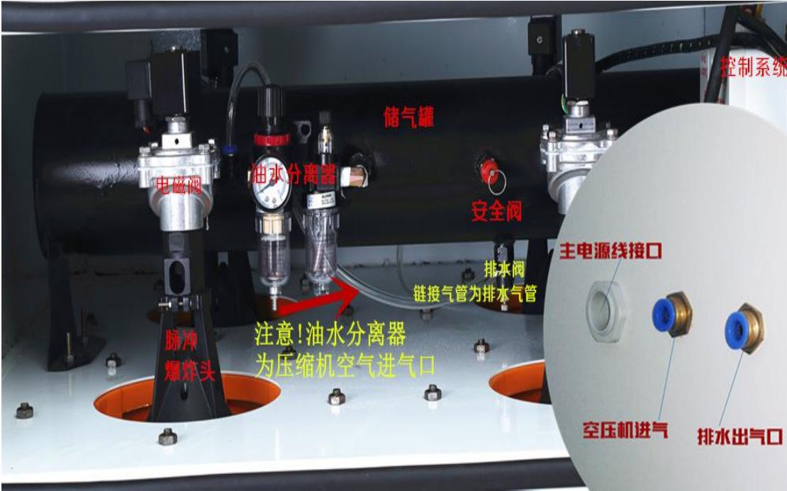 磨床粉尘吸尘器 车间机械设备工业集尘器 烟雾除尘器示例图39