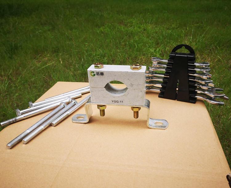 远能YGG电气化铁路高压非磁性电缆夹具生产加工示例图1