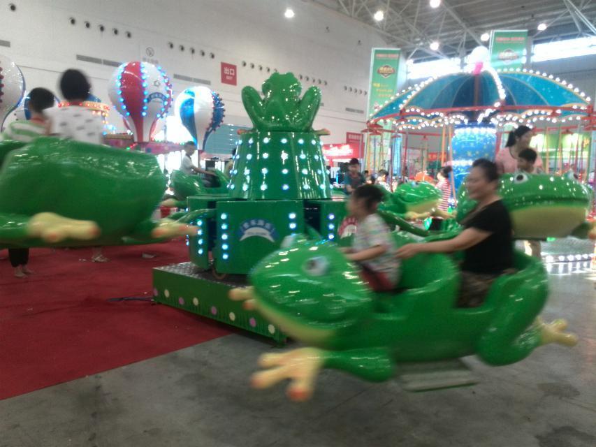 儿童游乐设备桑巴气球 厂家直销 郑州大洋8臂桑巴气球公园游乐示例图55