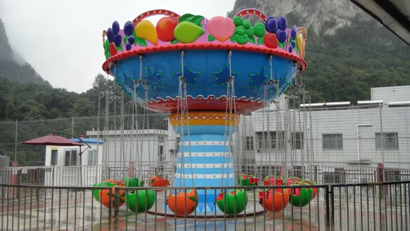 低价提供儿童游乐设备水果飞椅 厂家直销 郑州大洋火爆销售16座水果飞椅示例图3