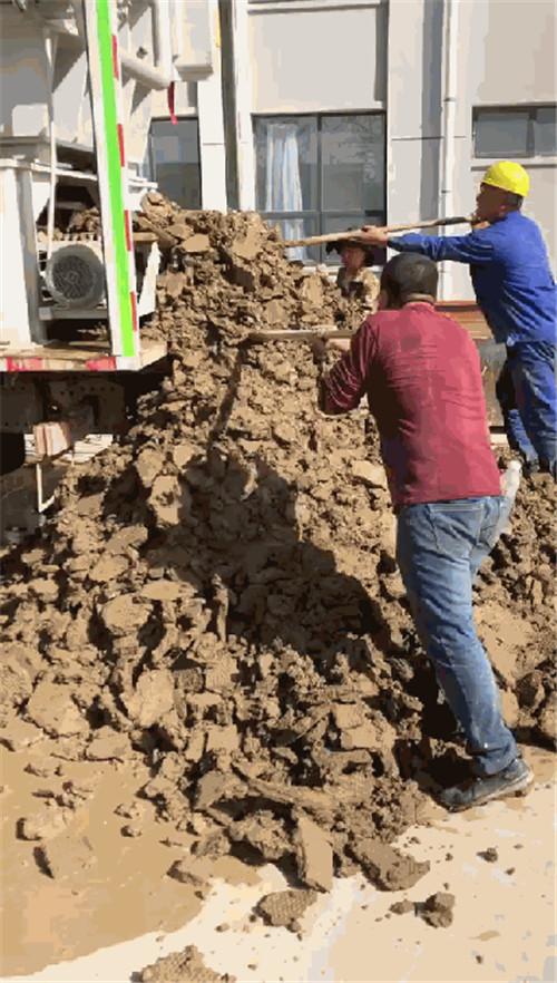 工地打桩护壁泥浆脱水压滤机 钻孔灌注桩泥浆压榨脱水压干设备示例图3