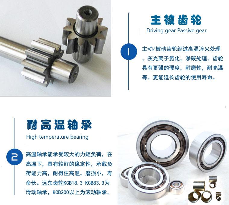 KCB5400齿轮泵,齿轮油泵流量:324m3/h压力:0.28Mpa口径:ф250,配电机Y315L1-6示例图3
