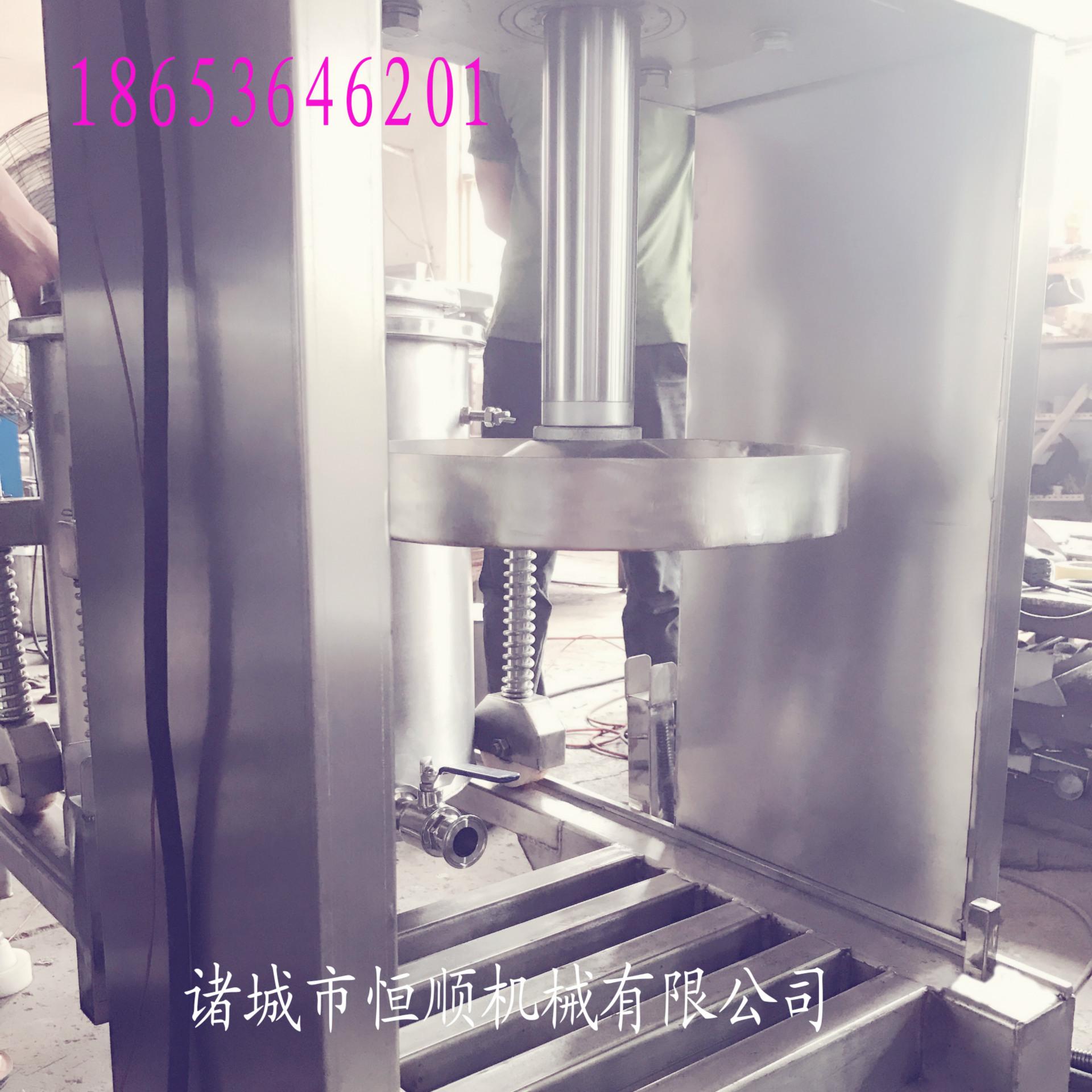 发酵中药原液提取压榨机 中药酵素过滤杂质压滤机 药泥固液分离机示例图60