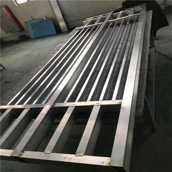 仿古铝窗花中式窗花定制 朝阳会所焊接造型铝屏风 满足审美需求铝窗花示例图11