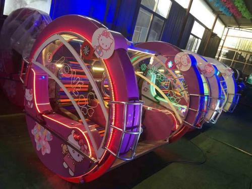 儿童游乐设备桑巴气球 厂家直销 郑州大洋8臂桑巴气球公园游乐示例图52