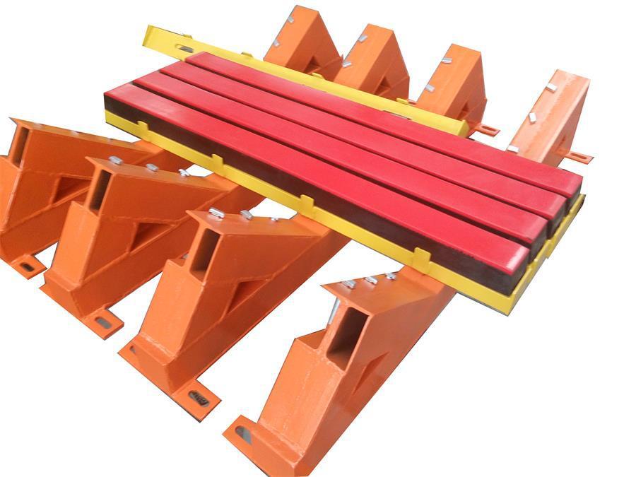 缓冲床主要用于替代缓冲托辊 有效的吸收了物料的冲击力示例图12