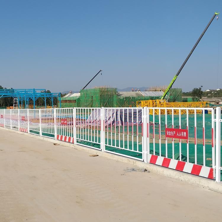德兰定型化基坑护栏现货批发 DL604基坑护栏 定制工地基坑围挡示例图13