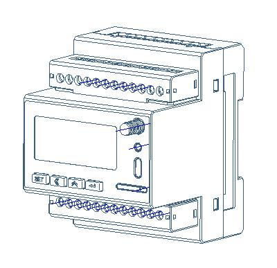 厂家直供安科瑞环保设备在线监测电能表ADW300系列lora无线通讯电能表示例图9