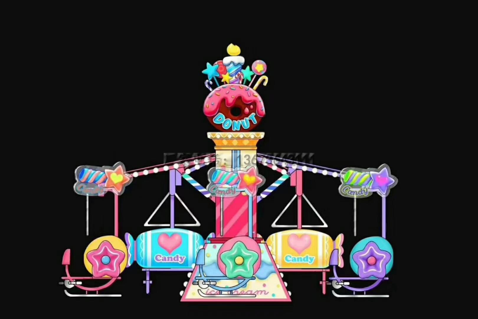 销售火爆广场游乐设备逍遥车 新型游乐逍遥车乐吧车大洋供应商示例图30