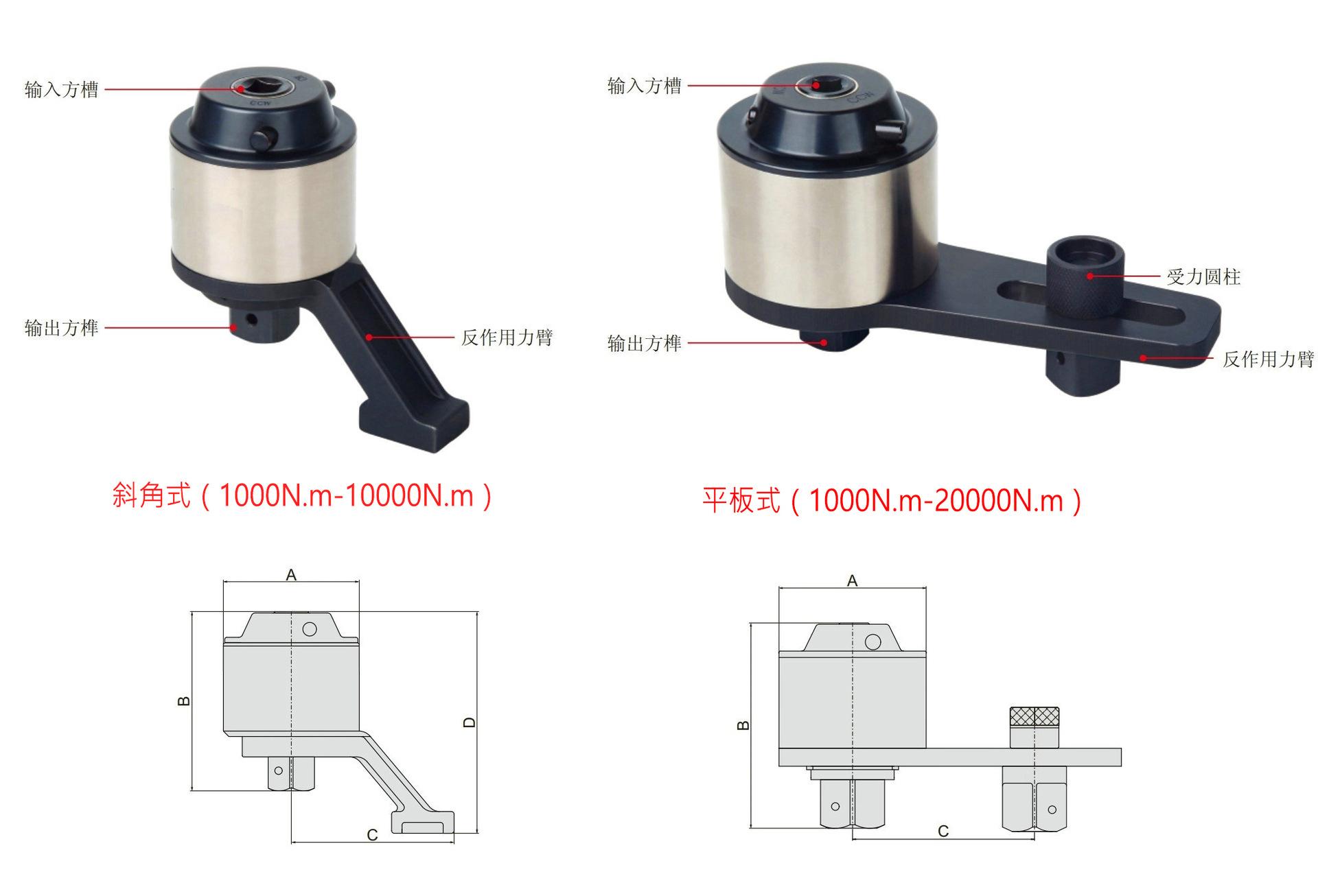 工业级扭矩倍增器 扭力倍增器 MDNF-20 2000N.m 扭矩比13倍示例图3