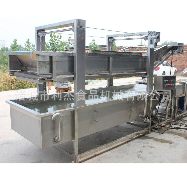 利杰牌LJQX-400气泡清洗机果蔬清洗机   蔬菜清洗机  清洗机采用气泡水浴清洗,适用 菌类菜类水产品、中药材的清洗示例图15