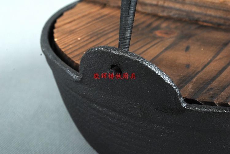 日式寿喜锅铸铁汤煲手工铸造炖锅汤锅炖煲老式日本锅鑄鐵鍋定做示例图8