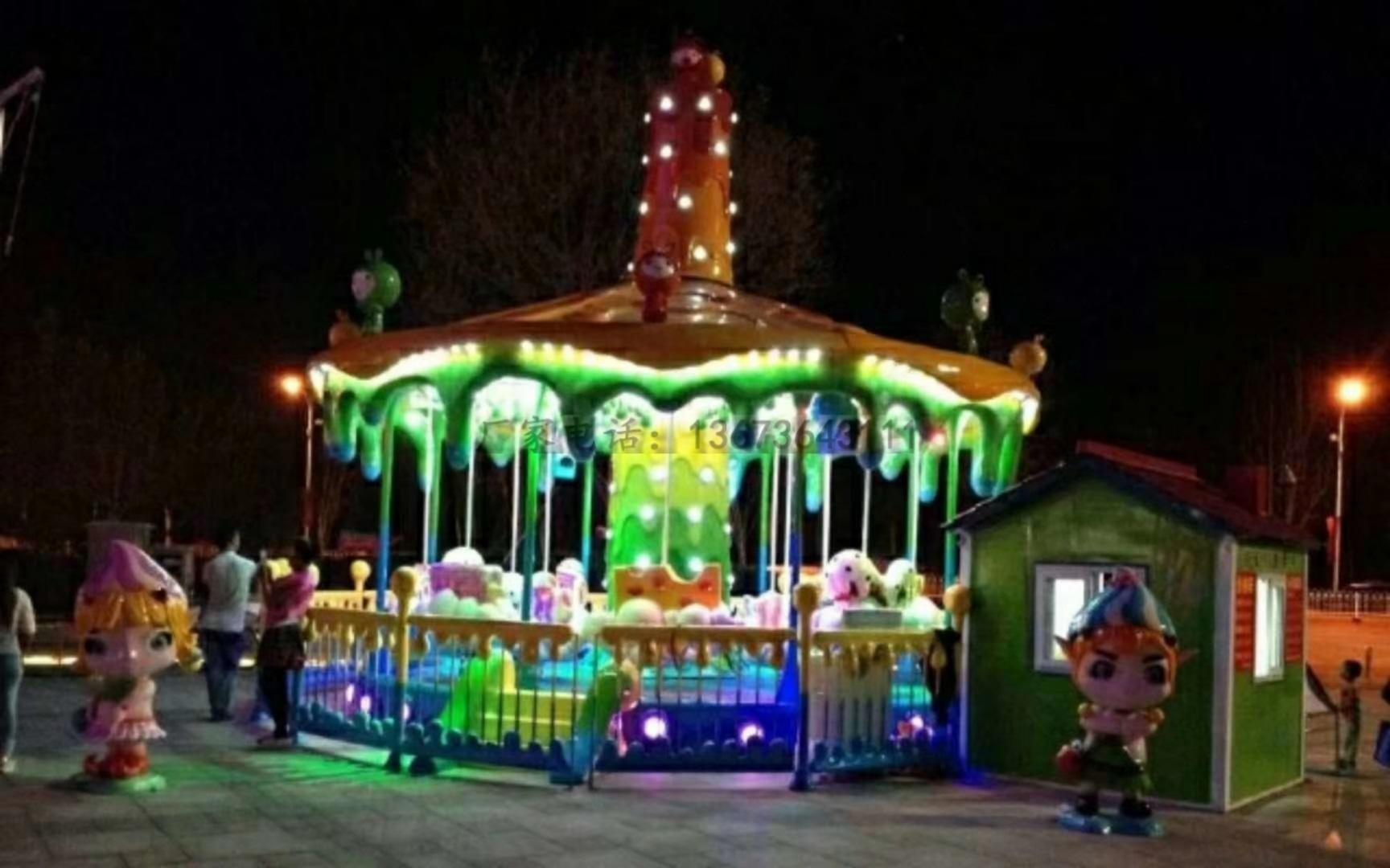 儿童游乐设备桑巴气球 厂家直销 郑州大洋8臂桑巴气球公园游乐示例图18