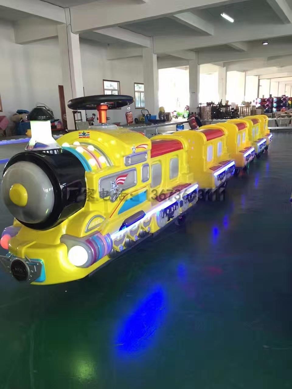 2020 郑州大洋源头厂家供应无轨海洋观光火车 公园卡通造型海洋小火车示例图43