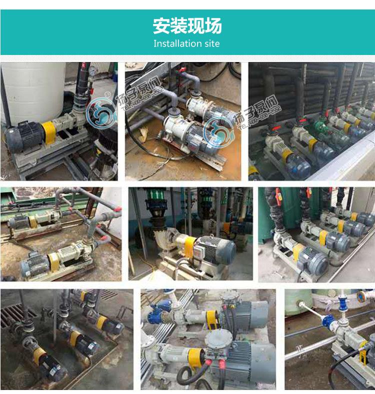 ZCQ25-20-115不锈钢自吸式泵力泵 卧式磁力驱动泵 无泄露磁力泵示例图14