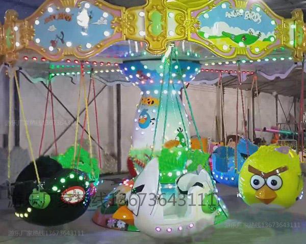 儿童12座迷你飞椅游乐设备 旋转飞椅大洋游乐厂家专业定制生产示例图56