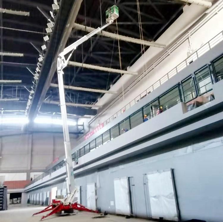 青岛标准型升降平台租赁 Palazzani帕拉沙尼TZX250蜘蛛式高空车 轻型升降机出租示例图10