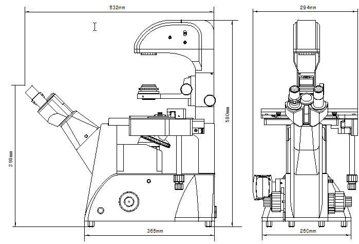 北京显微镜代理  XDS-3 倒置生物显微镜  倒置显微镜 供应报价示例图11