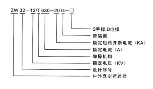 10KV高压真空断路器ZW32-12/630A示例图9