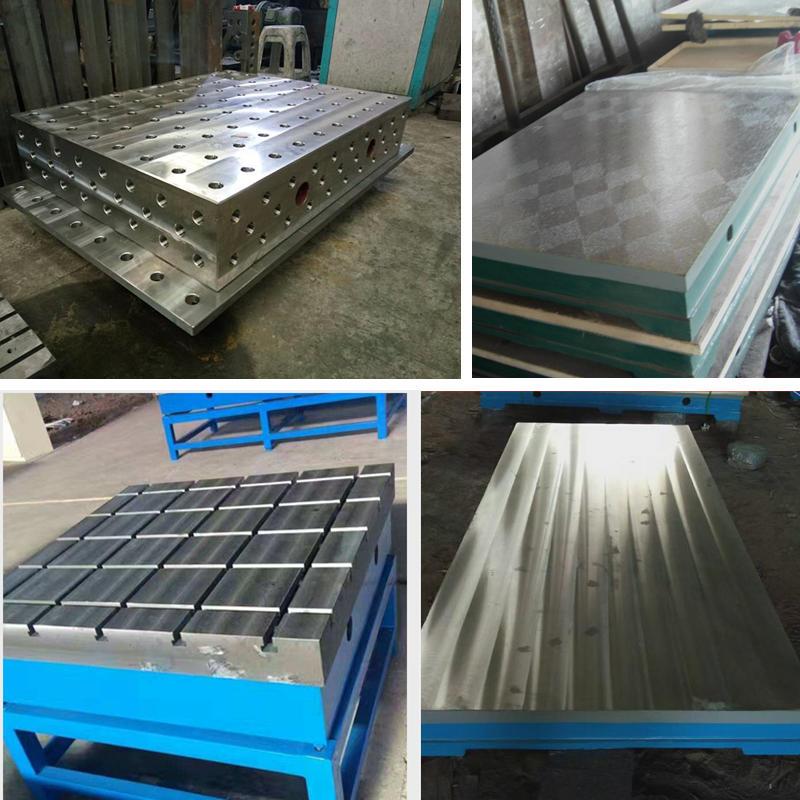 t型槽铸铁平台 铸铁T型槽平台 2米3米4米5米6米人防焊接铸铁平台平板 佳鑫支持来图定做示例图4