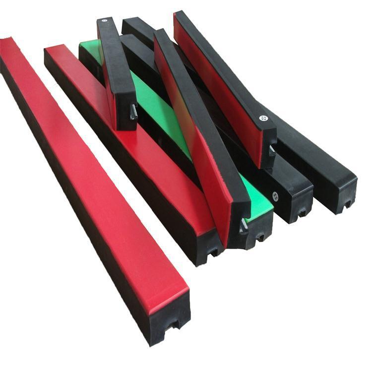 1500mm长电厂皮带机落料区缓冲用缓冲条,低摩擦高分子胶条示例图1
