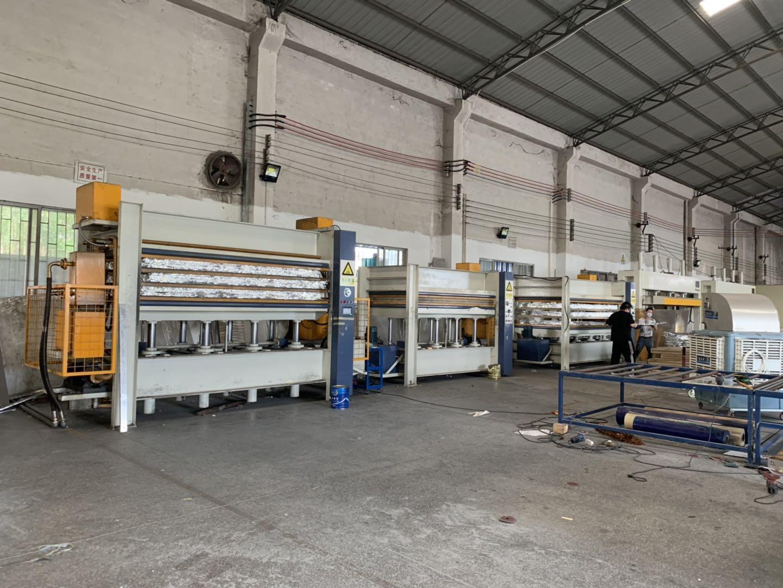 亨力特hlt3248-600t三聚氰氨貼面熱壓機,木工家具貼面熱壓機,生態板貼面熱壓機,尺寸非標可以定制示例圖39