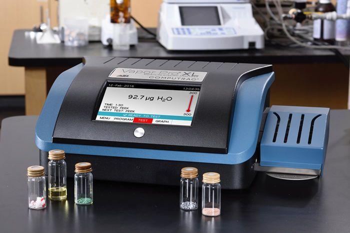 美国博勒飞Computrac Vapor Pro XL锂电池微量水分测定仪示例图1