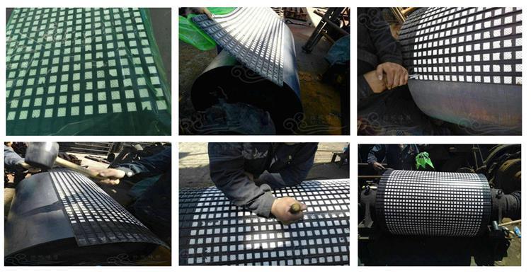 贵州滚筒包胶陶瓷胶板生产厂家  无需打磨陶瓷胶板示例图10