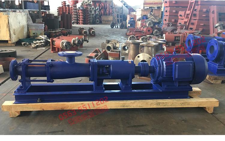 卧式螺杆泵规格,品牌高温螺杆泵,G30型系列单螺杆污泥泵,单螺杆泵厂家示例图18